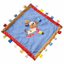 Taggies Buddy Dog Cozy Blanket – 16″ x 16″
