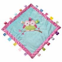 TAGGIES Oodles Owl Cozy Blanket – 16″ x 16″