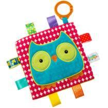 Taggies Crinkle Owl – 6.5″ x 6.5″