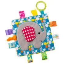 Taggies Crinkle Elephant – 6.5″ x 6.5″