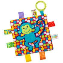 Taggies Crinkle Monkey – 6.5″ x 6.5″