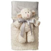 Marshmallow Lamb Cuddle Blanket – 28″ x 40″