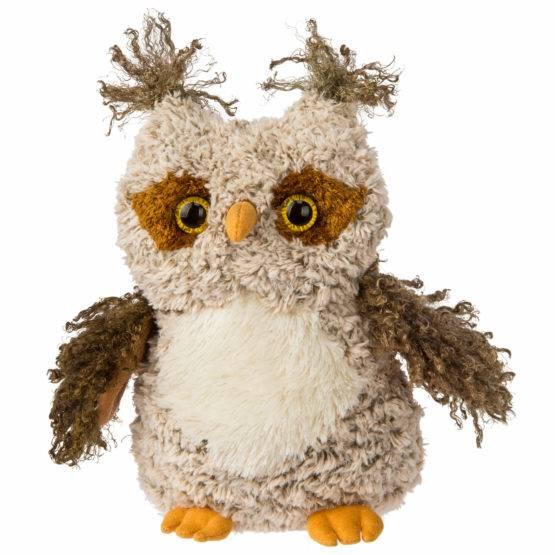 FabFuzz Twigs Owl – 10″ Tall