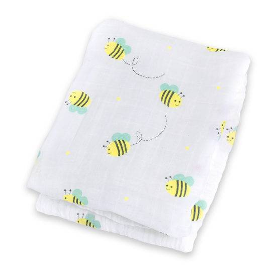 Muslin Swaddle – Bumbling Bee