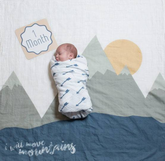 Baby's First Year blanket & Cards Sets – I will Move Mountains