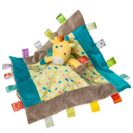 Taggies Gumdrops Giraffe Character Blanket