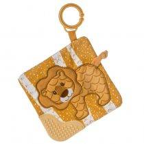 Afrique Lion Crinkle Teether – 6×6″