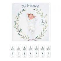 Baby's First Year – Hello World Wreath